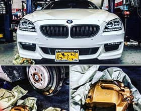 Astoria bmw car oil change