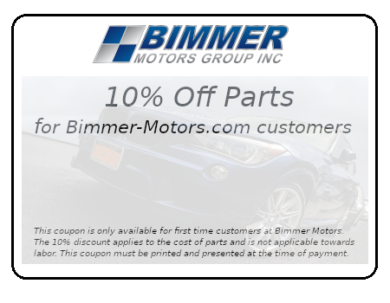 Bimmer-Motors.com 10% Off Parts